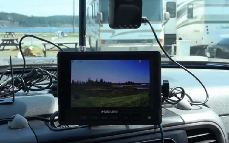 Best Motorhome Reversing Cameras For Rear View Safety