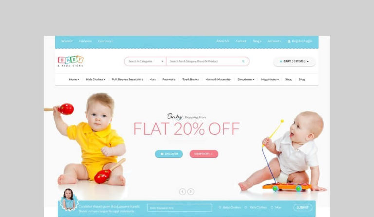 Know These Cutesy Themes for an On the internet Newborn Products and solutions & Toys Shop