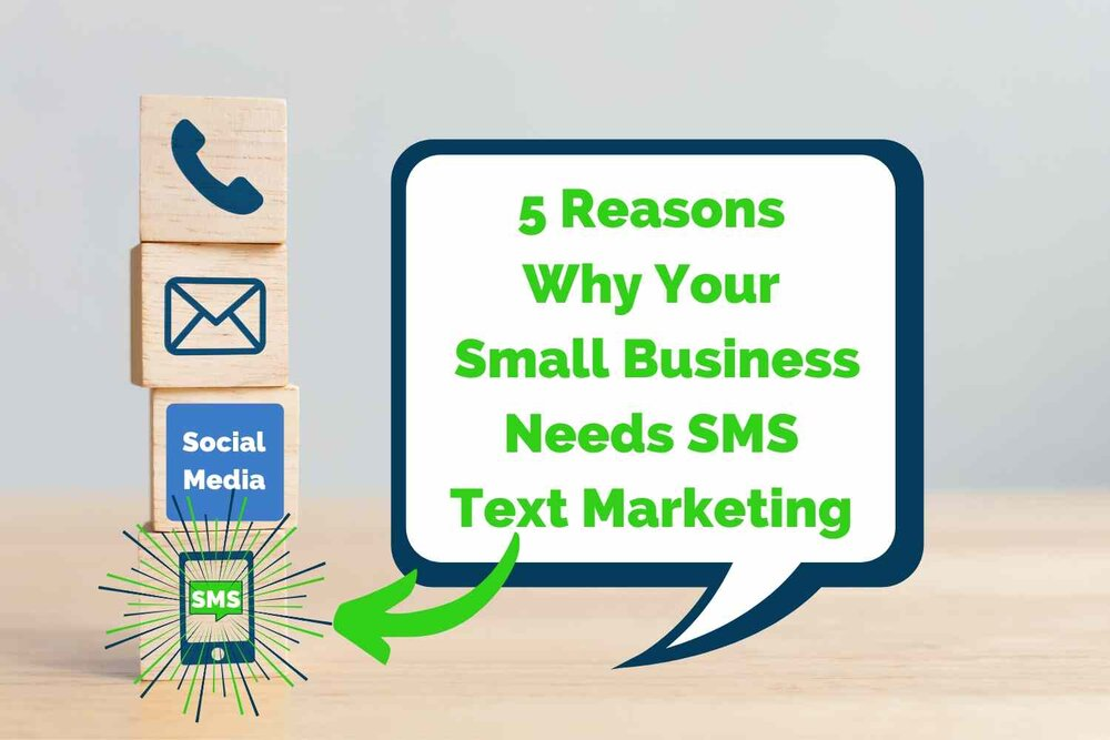 5 Reasons to Market to Your Customers via Text