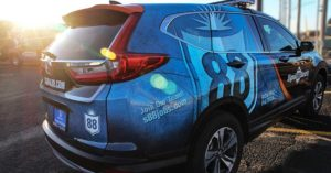 Guide on vehicle reflective graphics