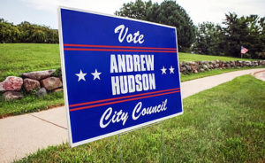 Using The Right Ink For Printing On Custom Yard Signs