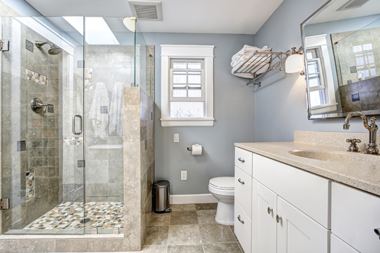 Bathroom and Shower Floor Designing With Tiles